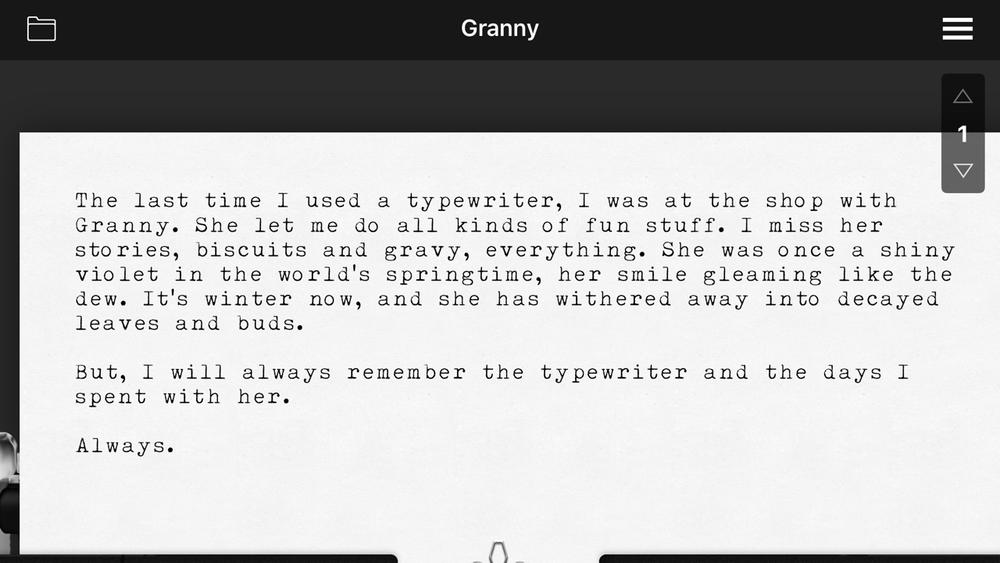 Hanx Writer.