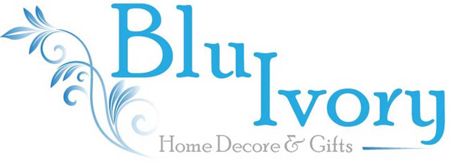 Blue  Ivory Home Decor