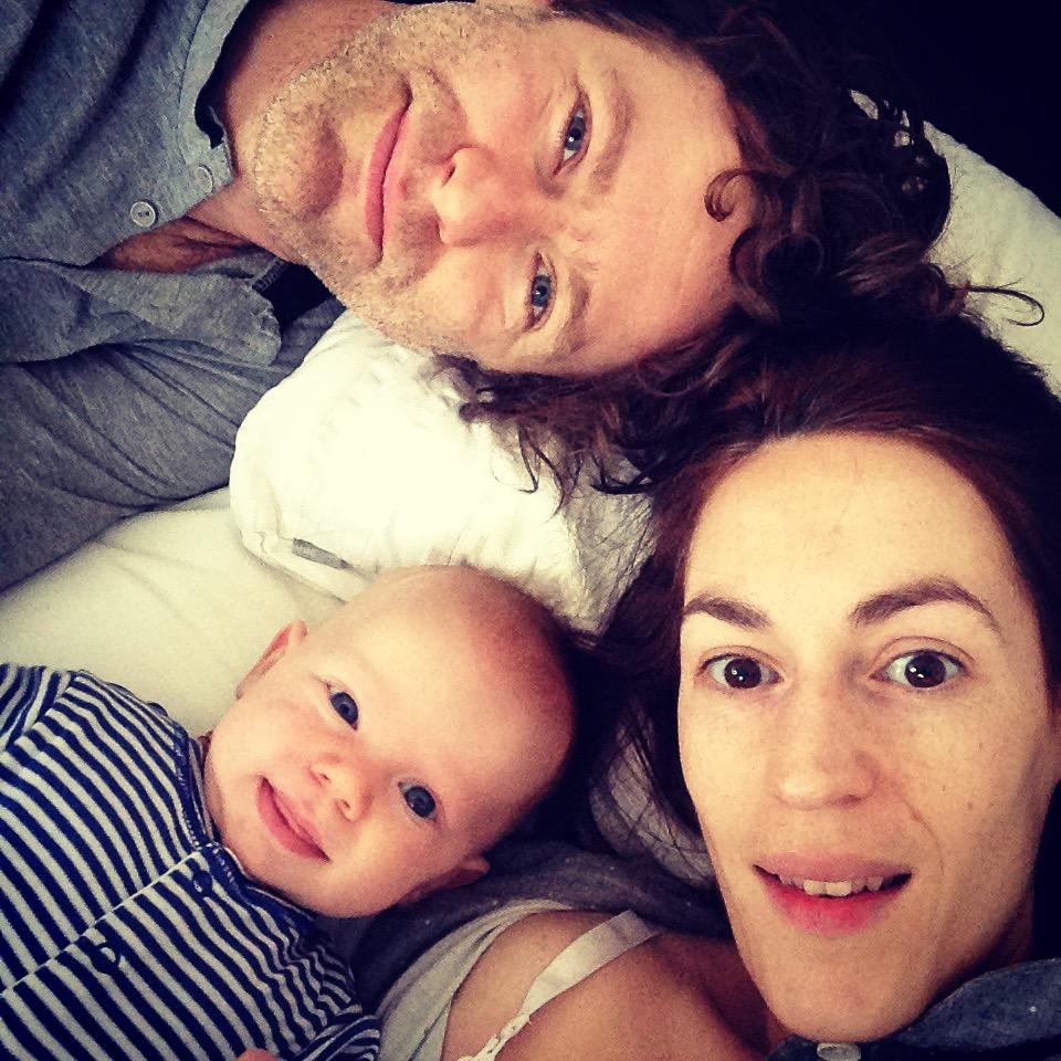 Simone, Ben and Hypno baby Sonny
