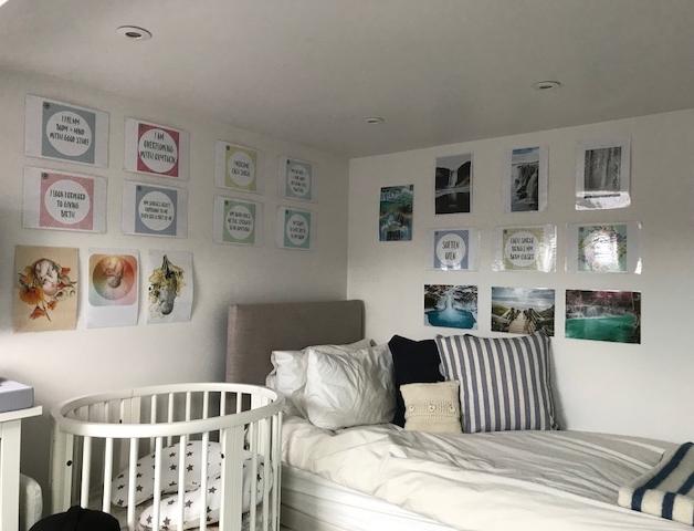hypnobirthing bedroom