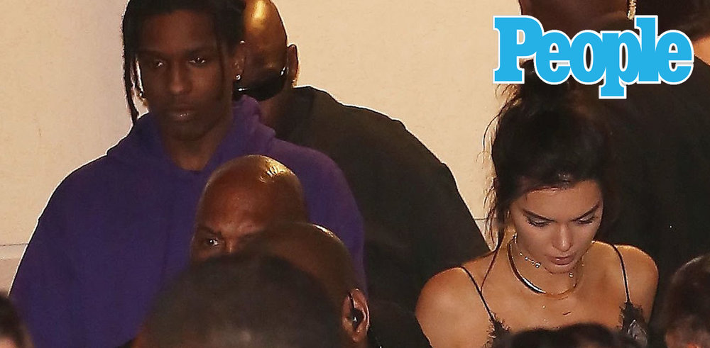Flirty Kendall Jenner and A$AP Rocky Heat Up Miami