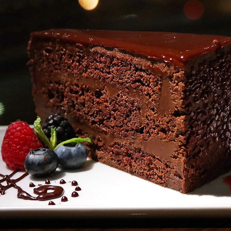 Chocolate Mud Cake at E11EVEN Miami
