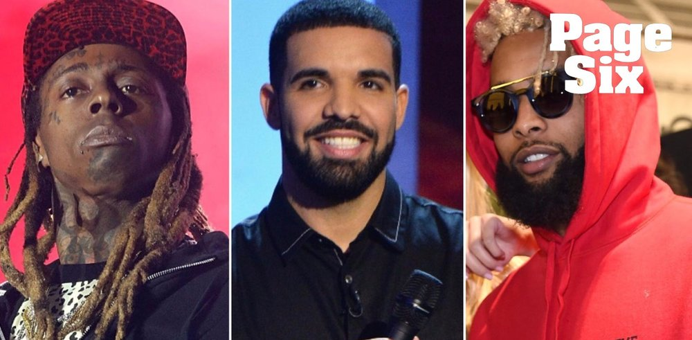 Drake bros out with Lil Wayne, OBJ