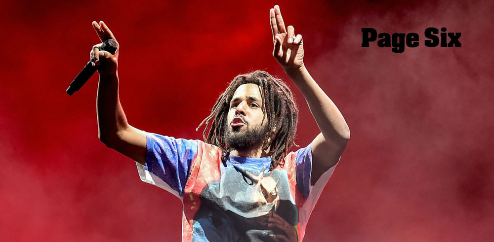 J. Cole has epic night out at Miami nightclub