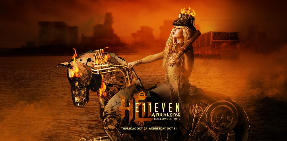 "E11EVEN MIAMI PRESENTS ""11-APOCALYPSE"" FOR HALLOWEEN 2018"