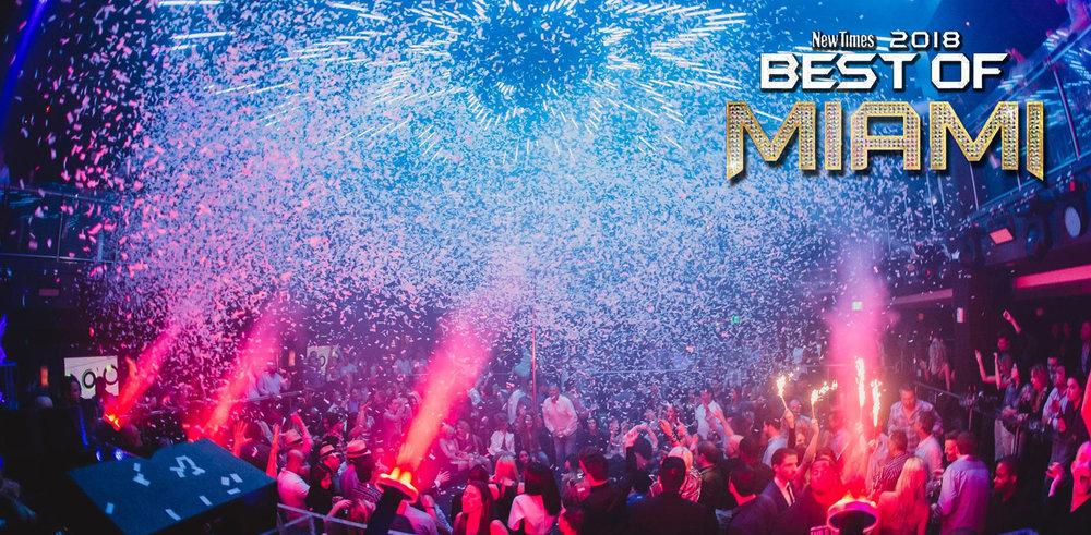 "E11EVEN MIAMI Voted As ""Best Dance Club"" In Miami New Times"