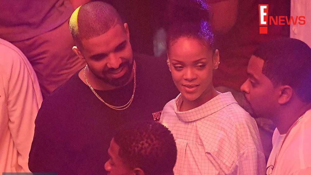 DRAKE'S SMILE SAYS IT ALL AS HE PACKS ON THE PDA WITH RIHANNA IN MIAMI