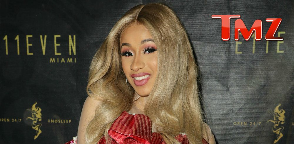 CARDI B Wears Ridiculous Dress ... TO HIDE PREGNANCY!!!