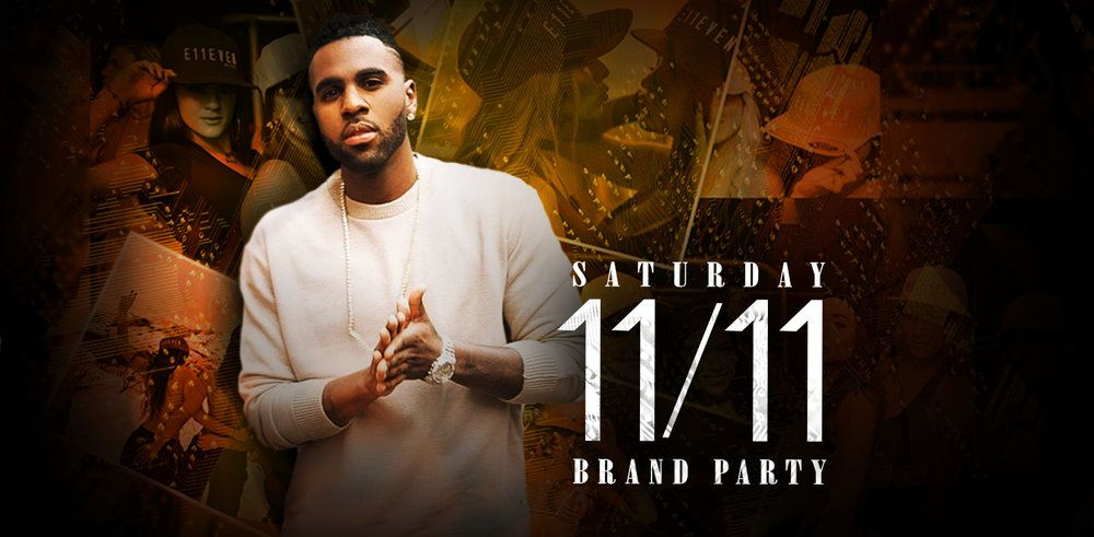 E11EVEN MIAMI TO CELEBRATE 11/11 WITH JASON DERULO  AT E11EVEN BRAND PARTY