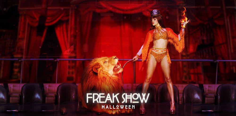 Ha11oween is a Freak Show of Fun at E11EVEN