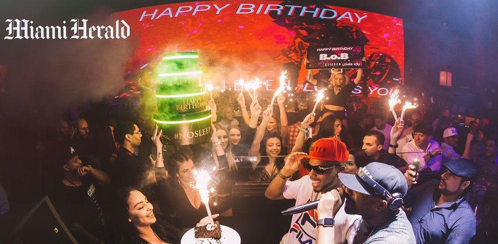 B.o.B's Birthday Celebration