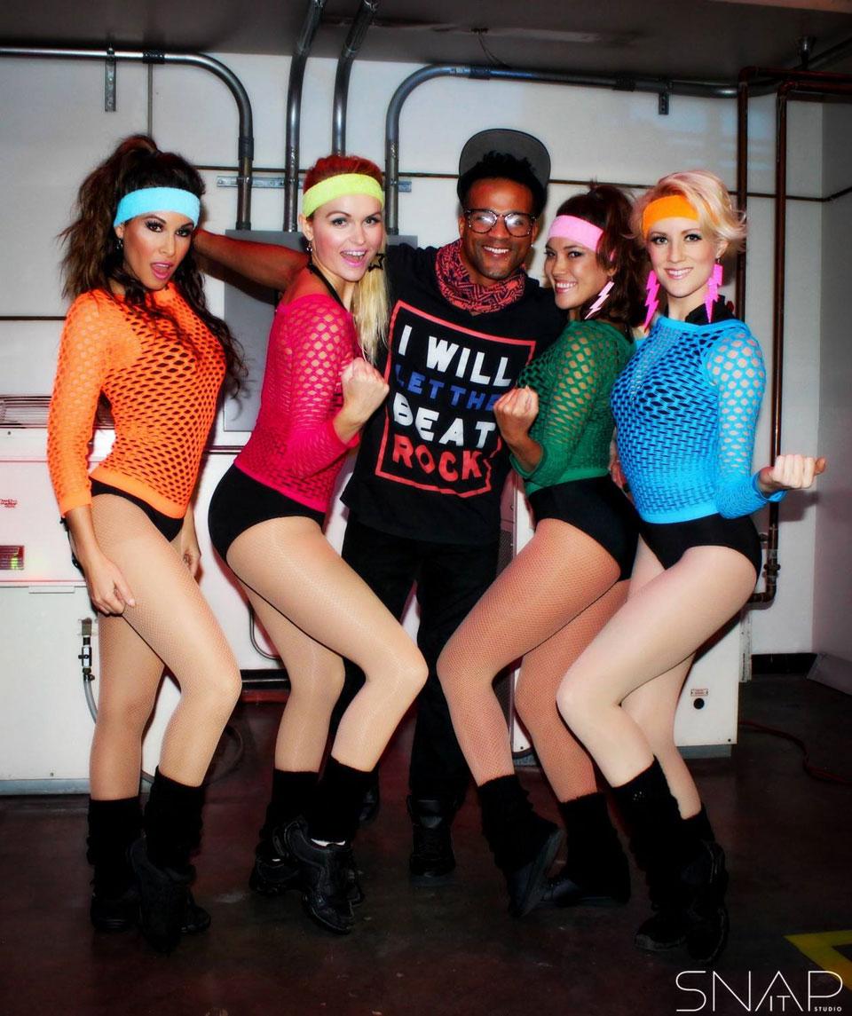 80s Dancers