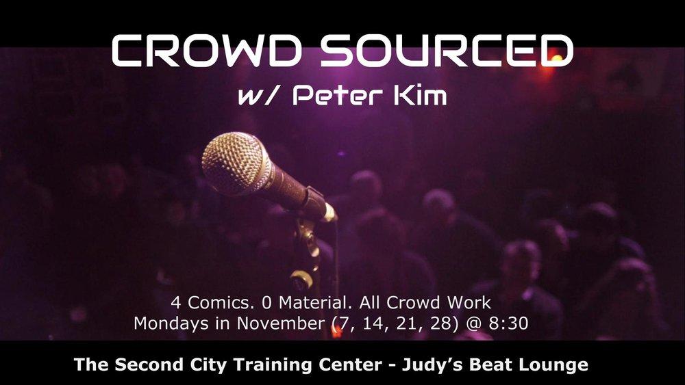 Crowd Sourced w/ Peter Kim