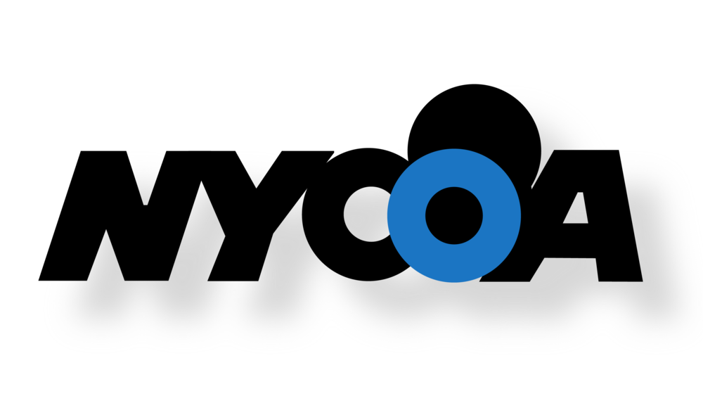nycoa logo with shadow image