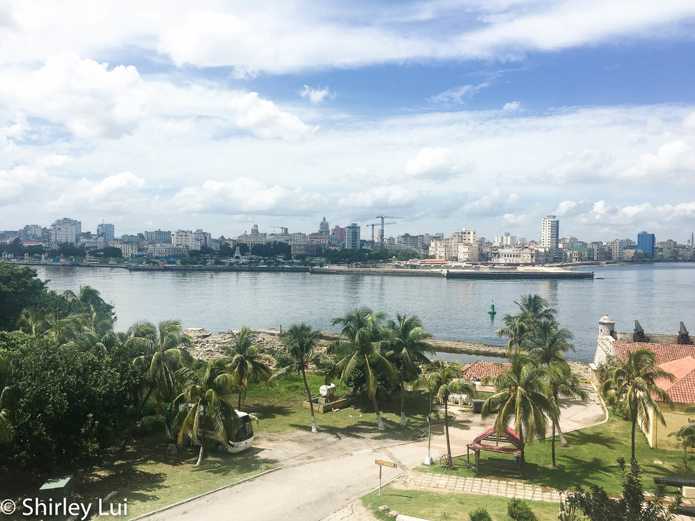 Lookout to Havana, Cuba from Castillo Del Morrio