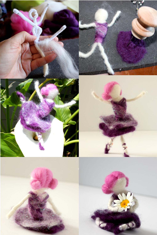 Sugar Plum Fairy - Needle Felting