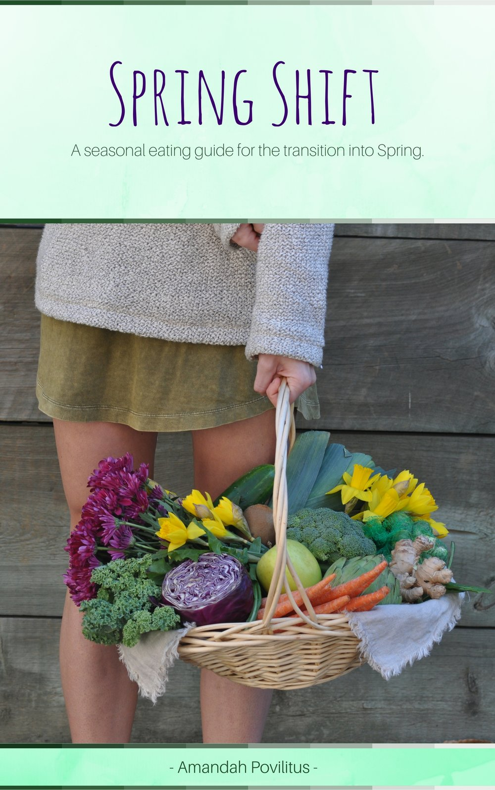 Spring Shift: my 30-page, instant download seasonal eating guide with more than 25 original recipes for the transition from winter into spring. click to learn more & to purchase!