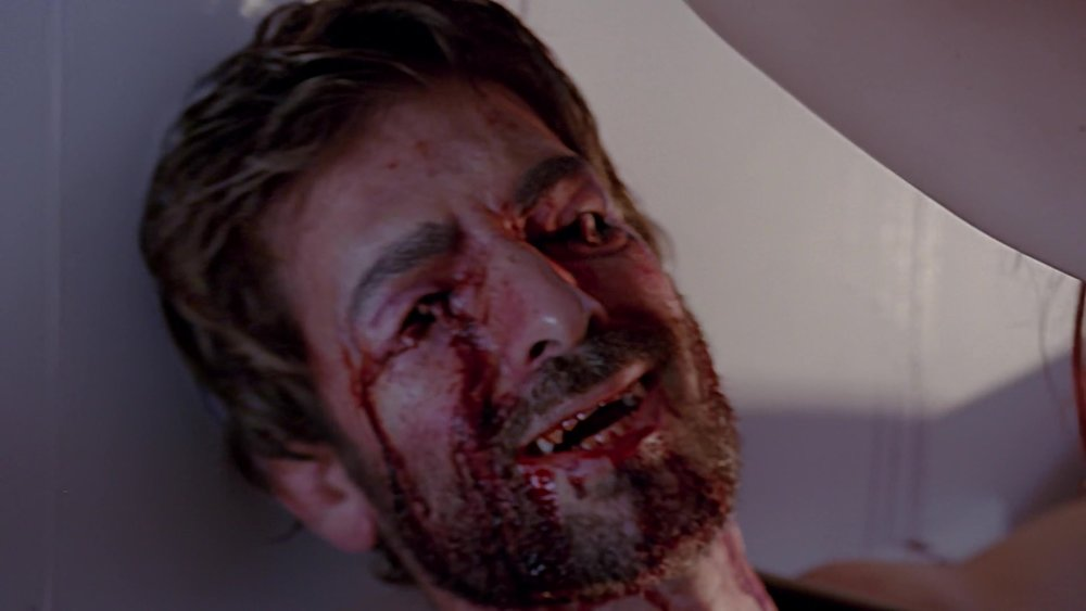 eye's gouged out - american horror story: hotel