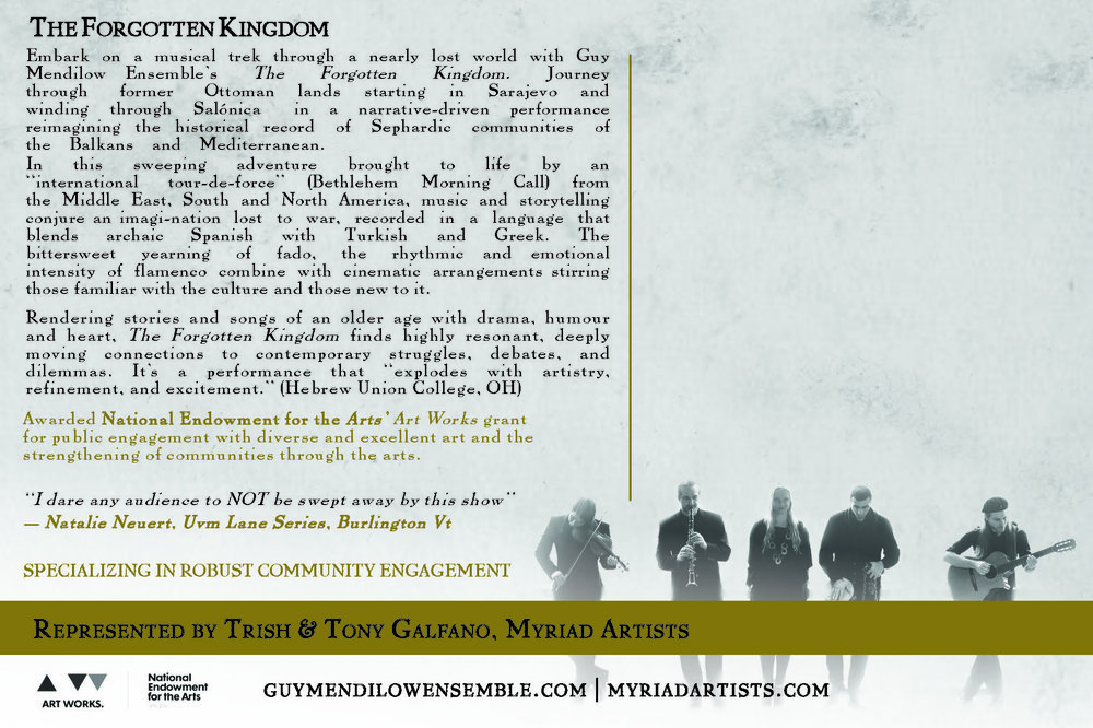"The Forgotten Kingdom      Postcard 4"" x 6""    (click to download)"