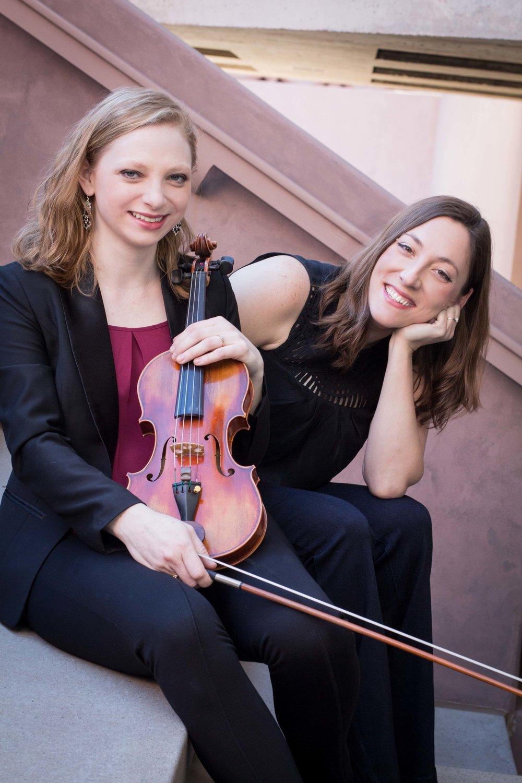 Hannah Leland, violin         Aimee Fincher, piano              photo credit: Keitaro Harada