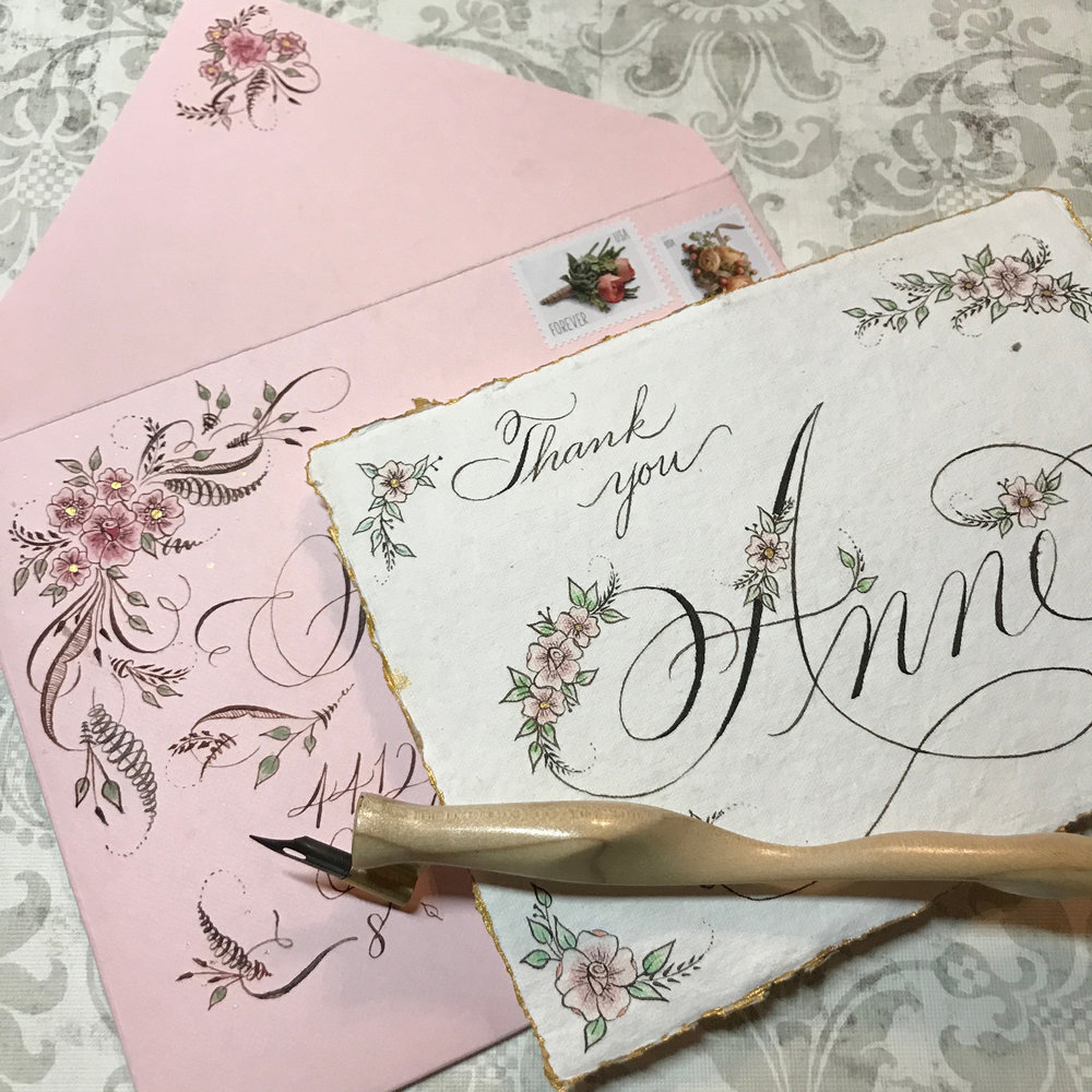 Flourished calligraphy envelope.jpg