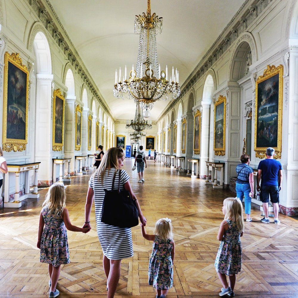 July 2016 at the Palace of Versailles
