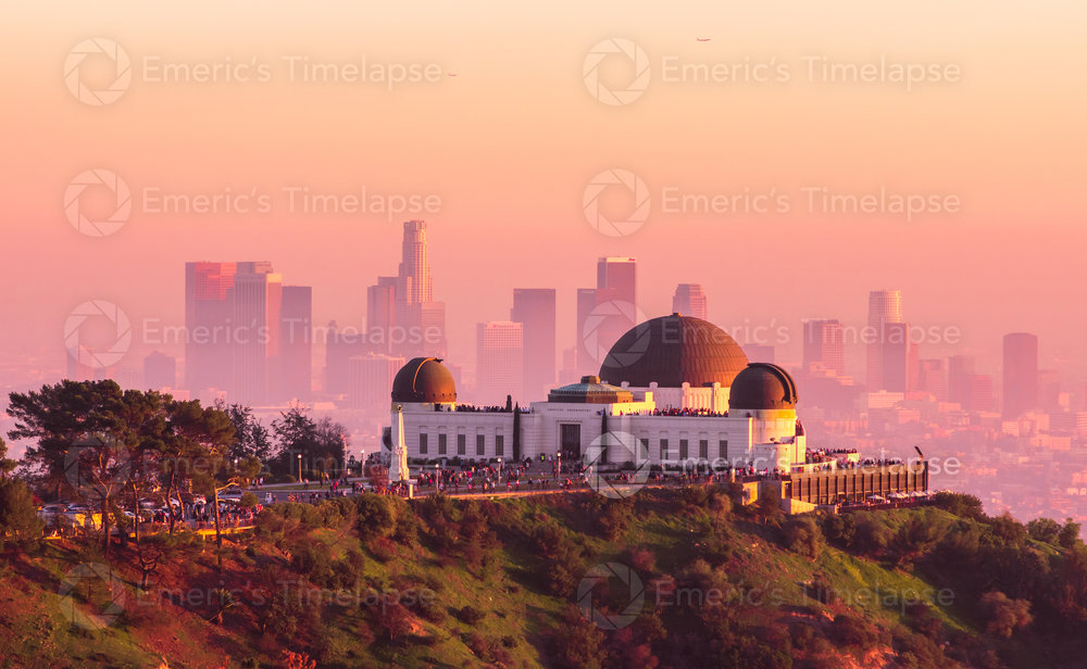 Griffith Observatory Sunset
