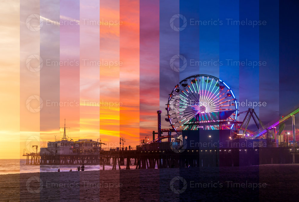 Santa Monica Pier Slices