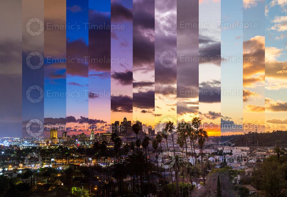 Los Angeles Sunset Slices