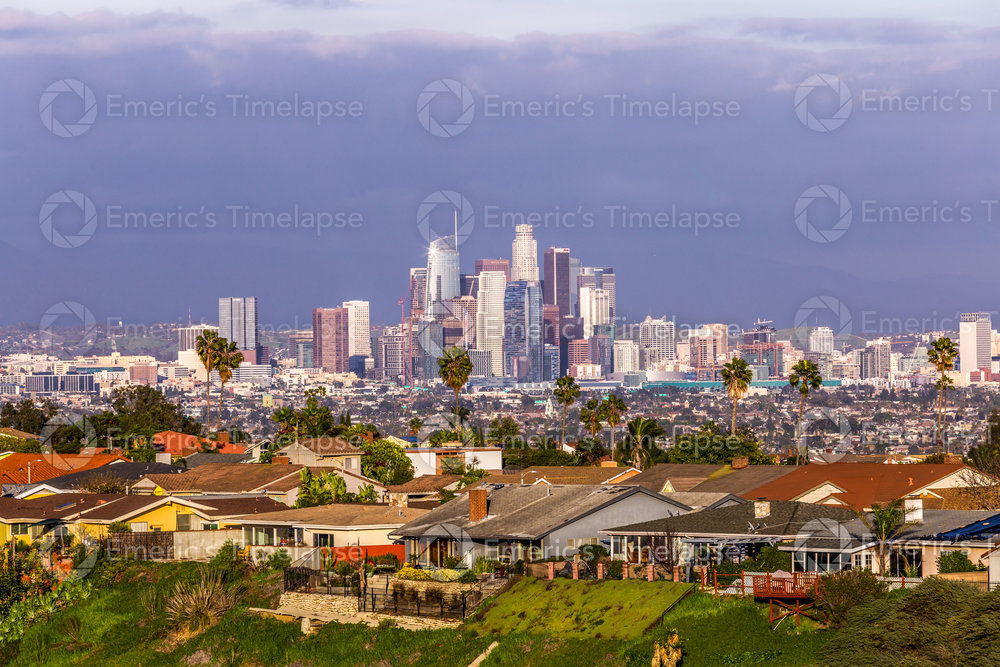 Downtown Los Angeles Kenneth Hahn Park