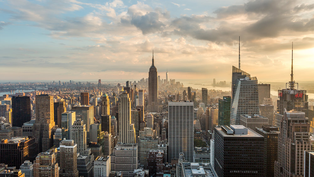 4k new york city skyline day to night sunset emeric s timelapse
