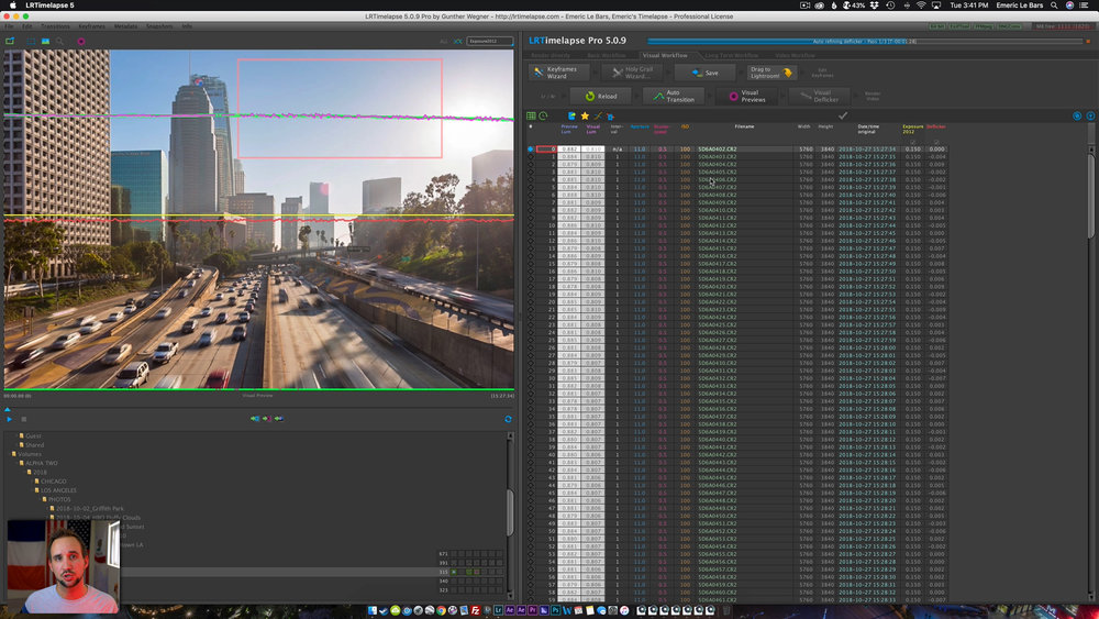 LRTIMELAPSE AND LIGHTROOM EDITING Timelapse Masterclass 2019