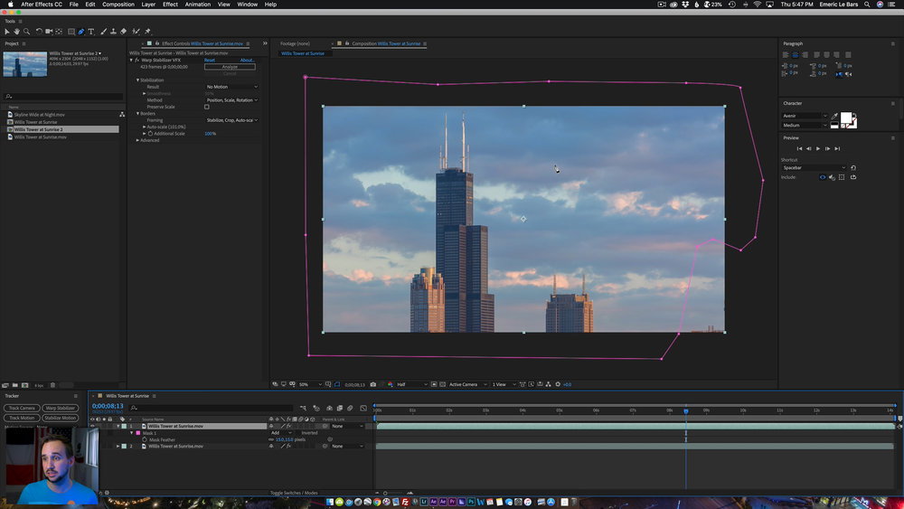 AFTER EFFECTS CLEANING Timelapse Masterclass 2019