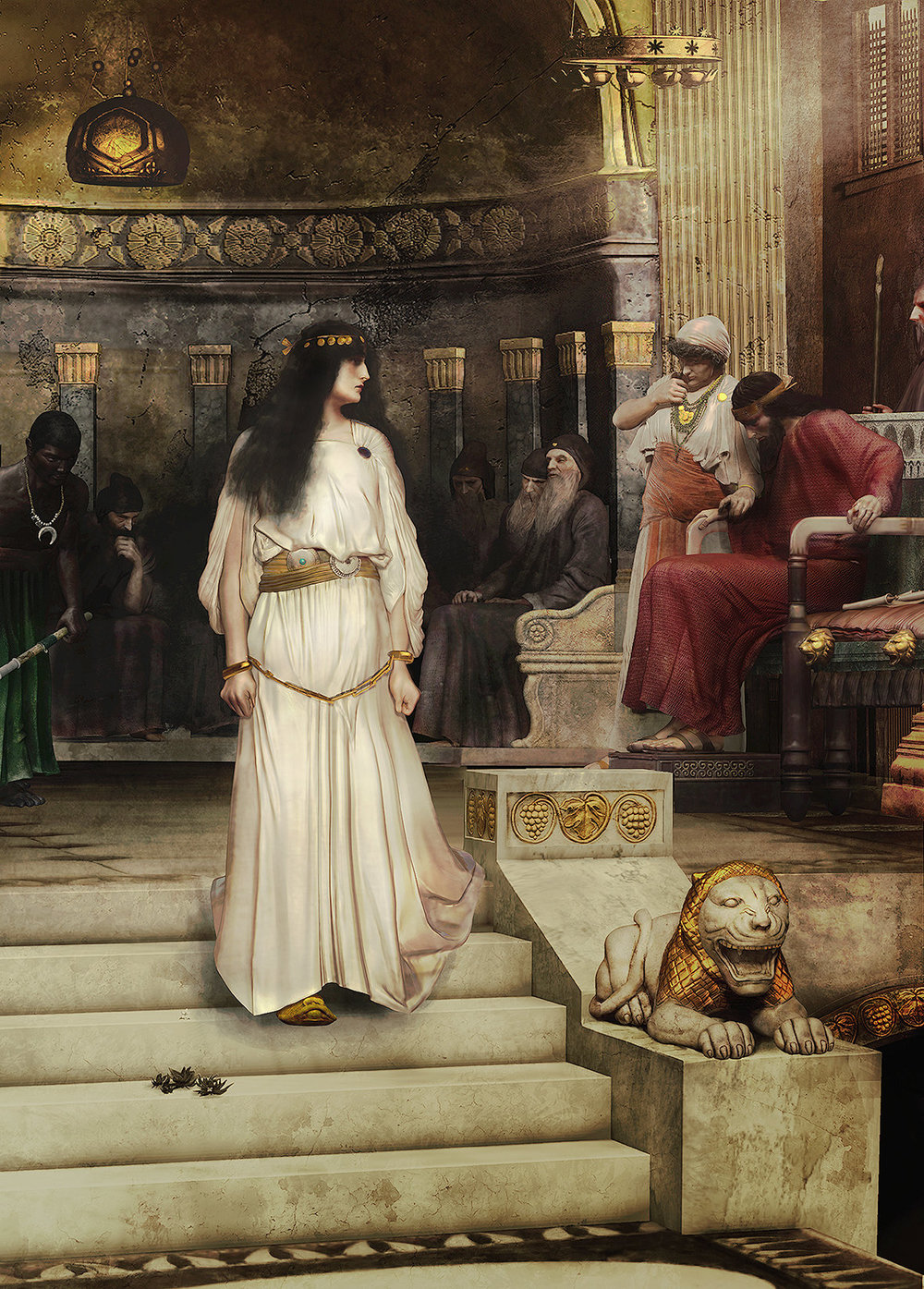 The trial of Mariamne I, the last member of the Hasmonean dynasty