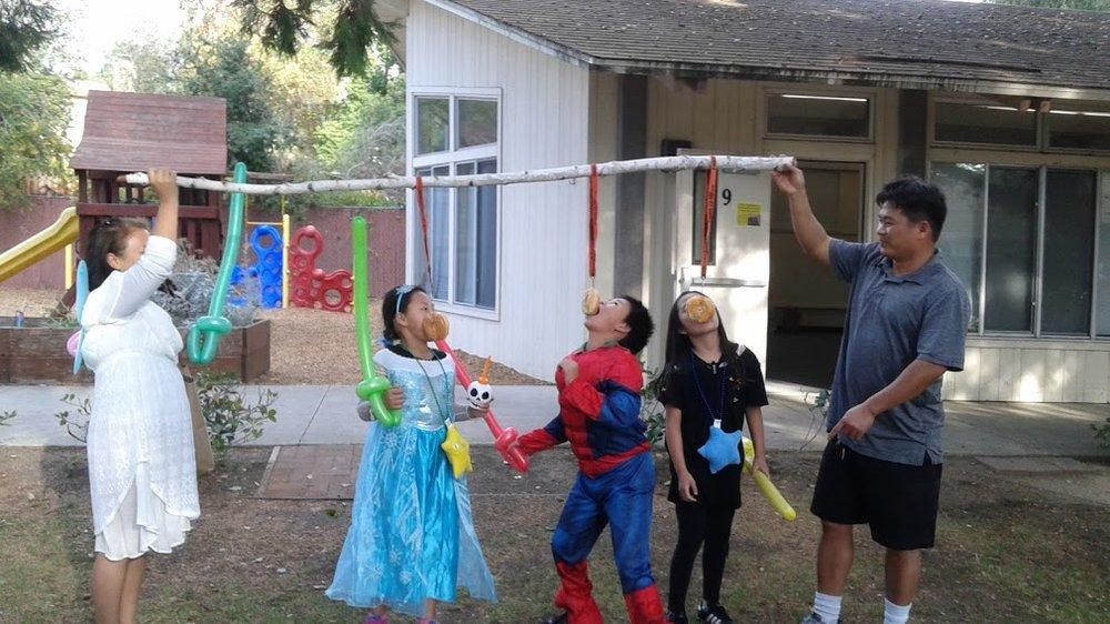 FALL HARVEST DAY GAMES FOR CHILDREN