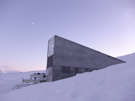 """doomsday"" seed vault, Norway"