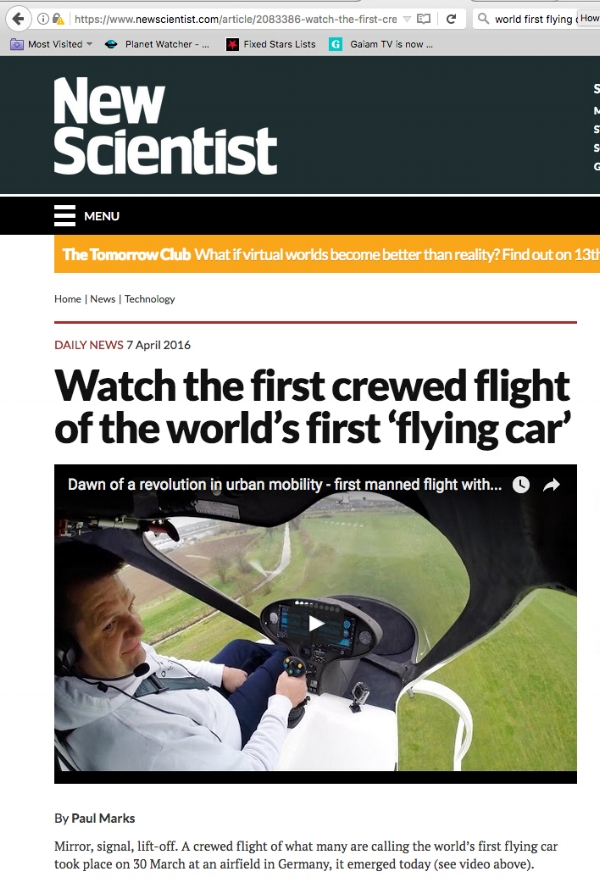 https://www.newscientist.com/article/2083386-watch-the-first-crewed-flight-of-the-worlds-first-flying-car/