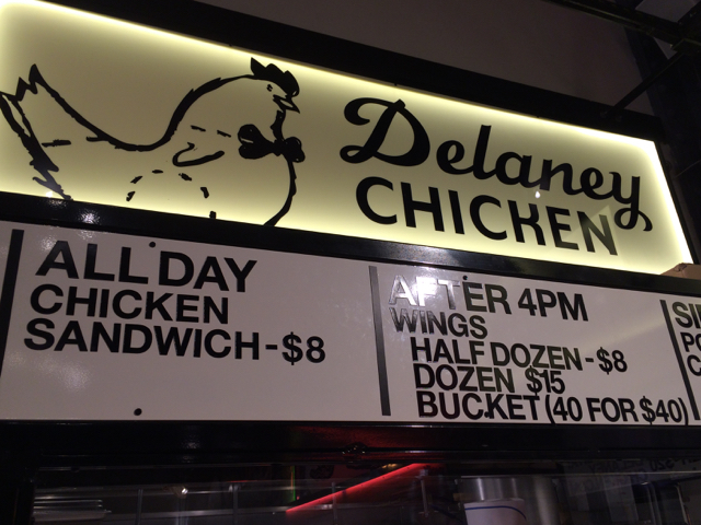Fried Chicken Sandwiches for everyone! Delaney Chicken, New York City