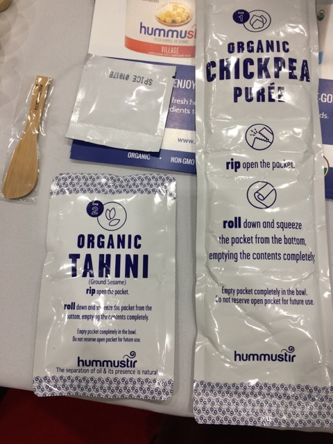 Hummistir - shelf-stable DIY hummus kit from Israel