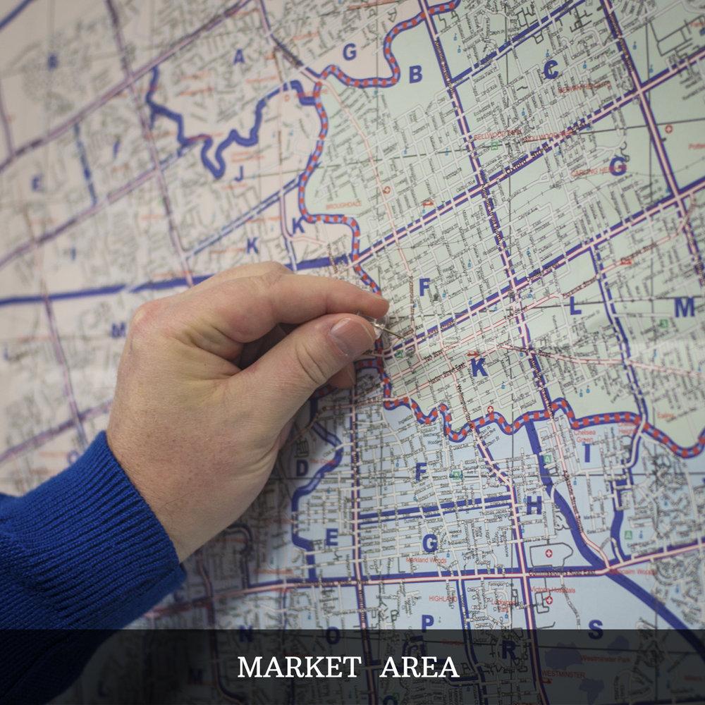Metrix Realty - Market Area