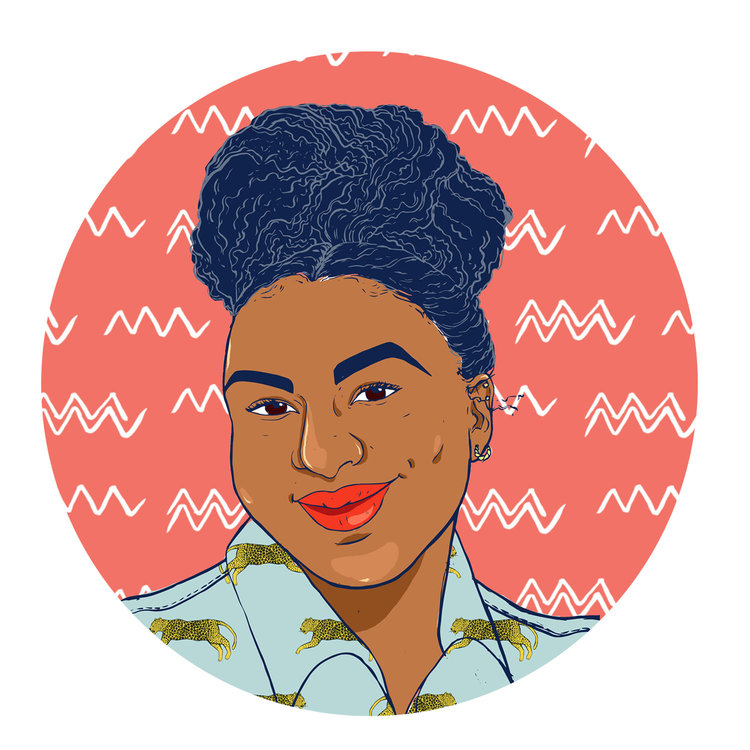 Illustration, Surface Design, and Black Girl Magic
