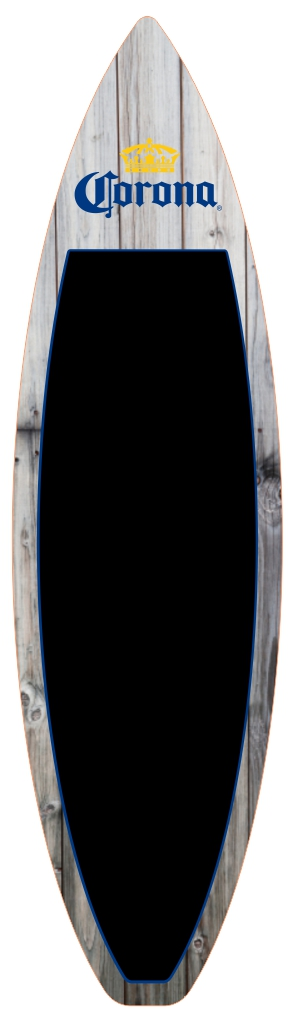 Corona - Vinatge 2 - Chalk Top Display Surfboard.jpg