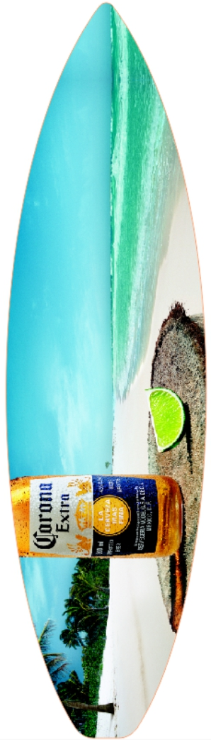 Corona - Bottle on Stump - Display Surfboard.jpg