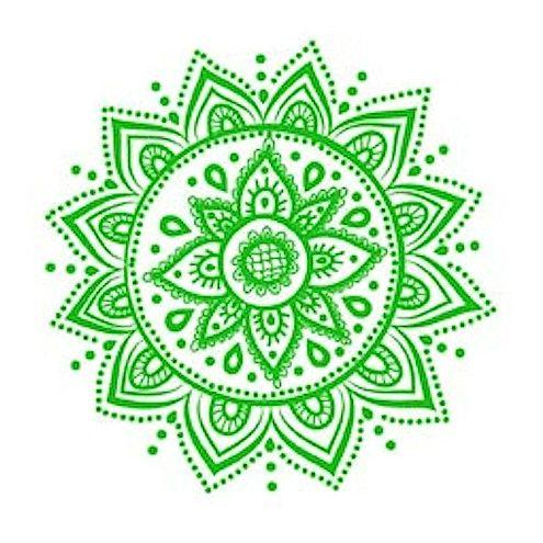 The Fourth Chakrah's color is Green