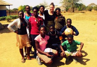 Jacqueline in Zambia