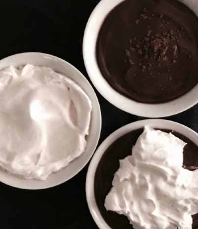 P.S. Major kudos to everyone out there who knows how to take good pictures of chocolate pudding.  OMG, so hard.