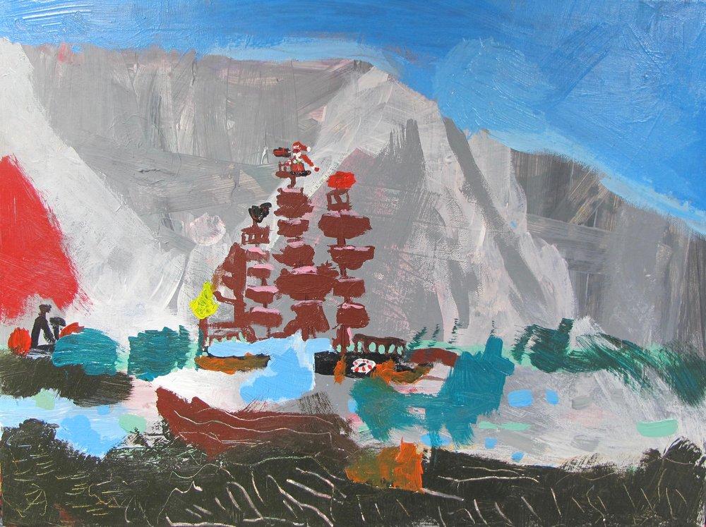 Stormy Seas and Santa - Henry Naprawa, age 6www.thedorrstreetstudio.com