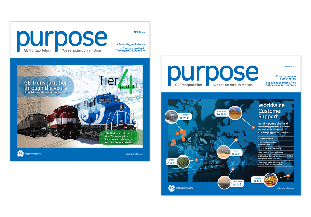 GE's purpose newsletter