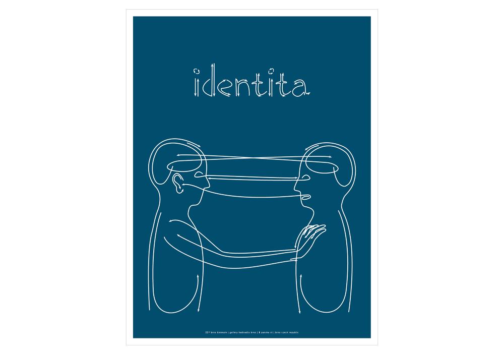 'identita' poster - winner of SEED ATL 07