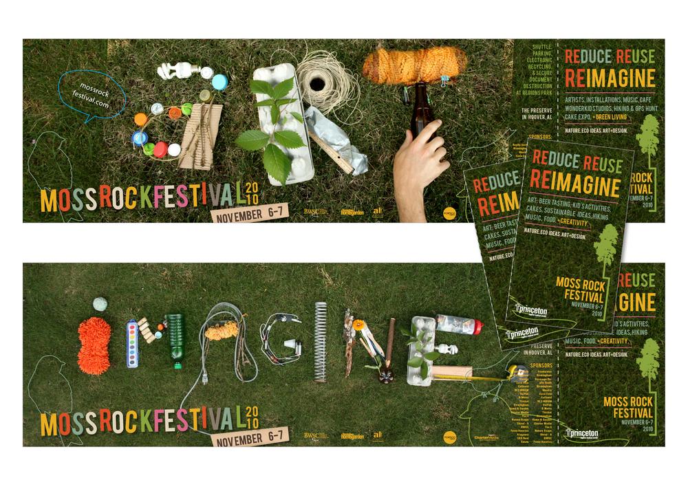 moss rock festival print work